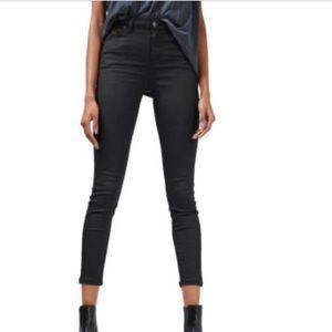 TopShop MOTO Coated Jamie Jeans